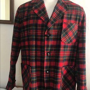 Pendleton Stewart Tartan Wool Jacket Vintage